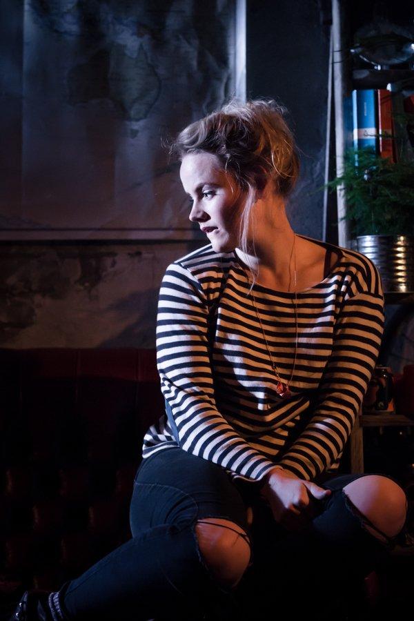 Lizzie Holmes | Mimi in La Boheme, King's Head Theatre, Trafalgar Studios West End | Photo by Scott Rylander