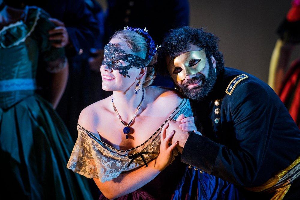 Lizzie Holmes | Soprano | Grange Park Opera, Un Ballo in Maschera