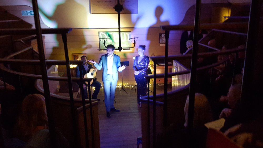 DEBUT at Old Operating Theatre
