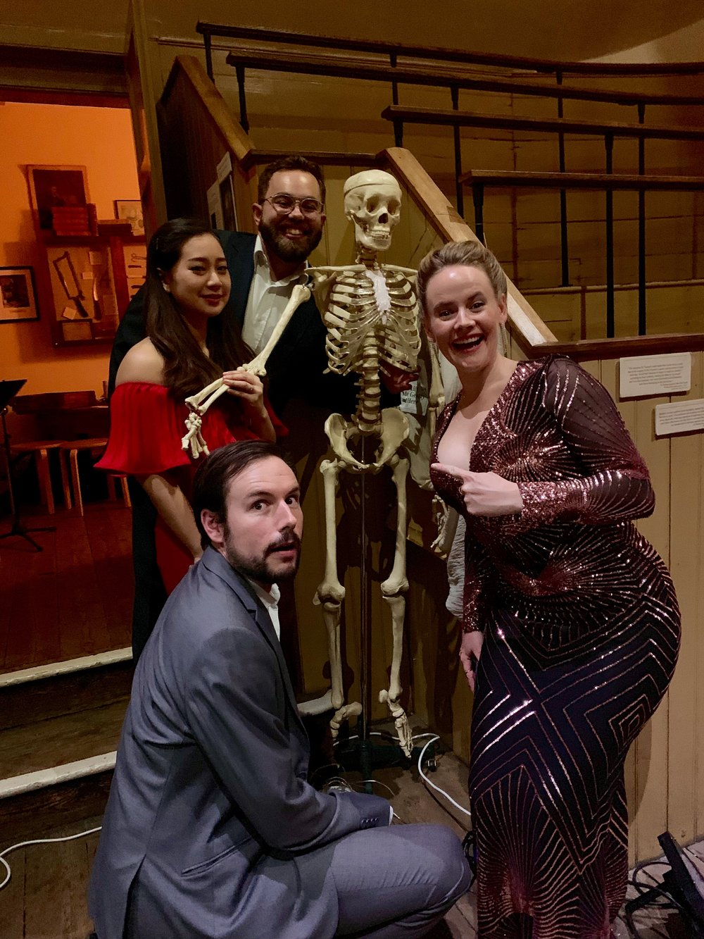 DEBUT at Old Operating Theatre | Behind the Scenes