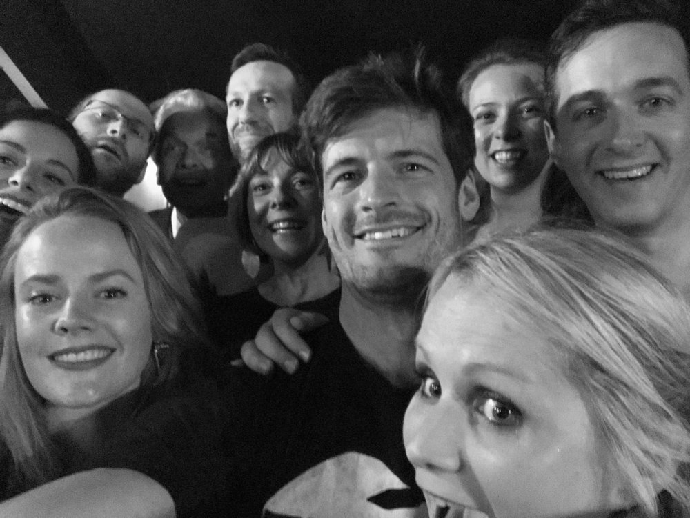 Post show selfie with all the Opera Up Close team!
