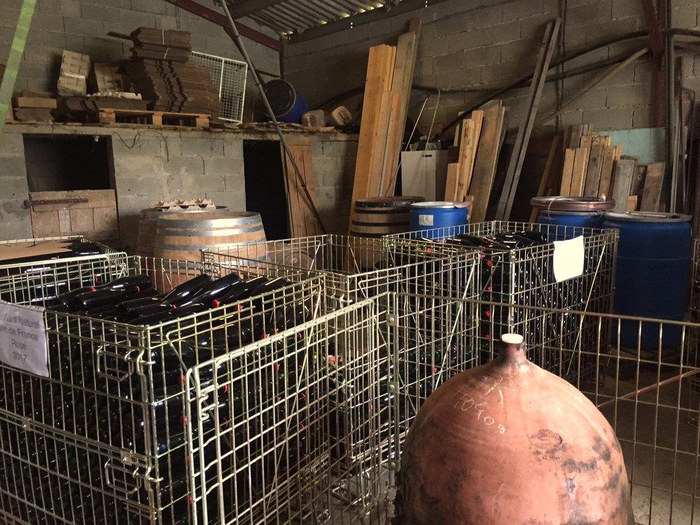 Chai garage Romuald Cousy L'ambitio