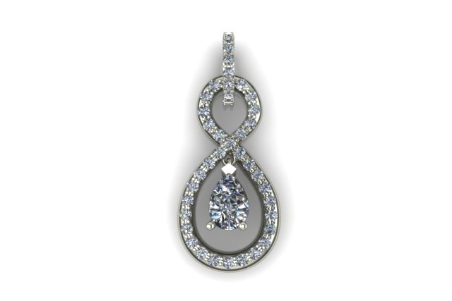 Pear pendent  rendering 1.90mm Diamonds  3.jpg