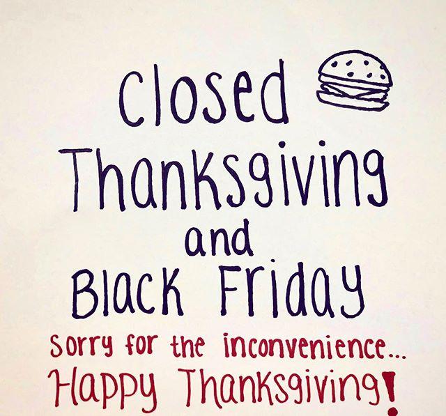 Happy Thanksgiving! 🦃 #biggieburgers #merrick