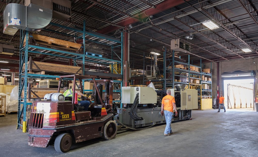 INDUSTRIAL    WAREHOUSING - our facilities can handle all your Industrial Warehousing requests