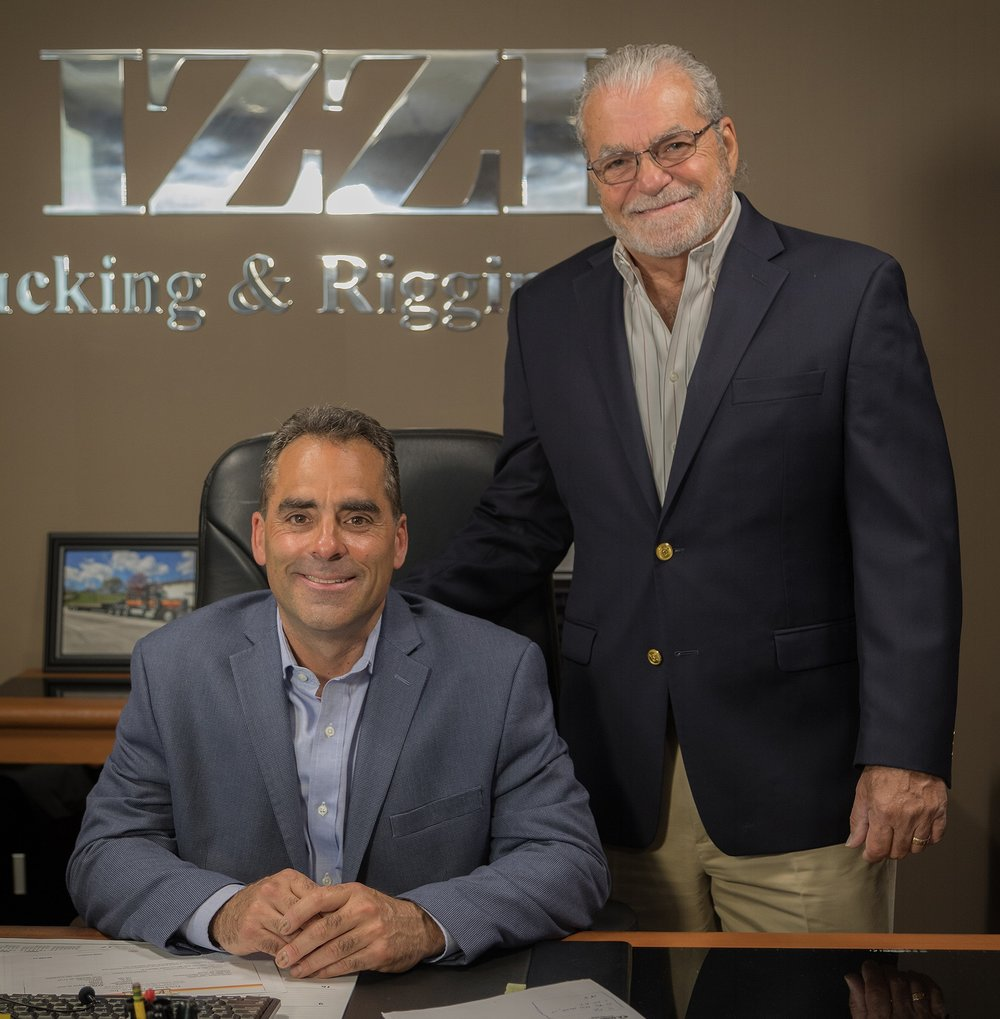 David Izzi,   President,    and  Stephen Izzi,   Founder.