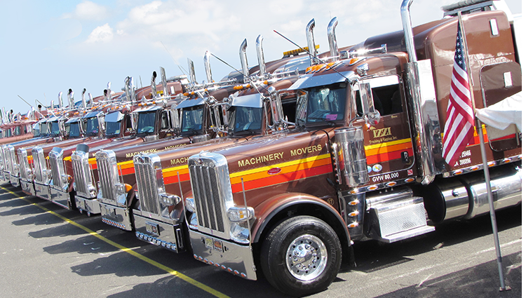 Our trucking fleet has some of the best truckers, with the most up-to-date equipment,and safety procedures. -