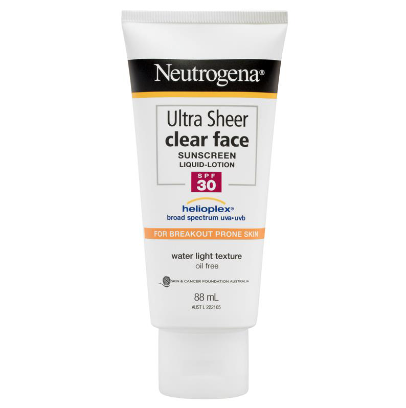 Neutrogena Ultra Sheer Clear Face SPF