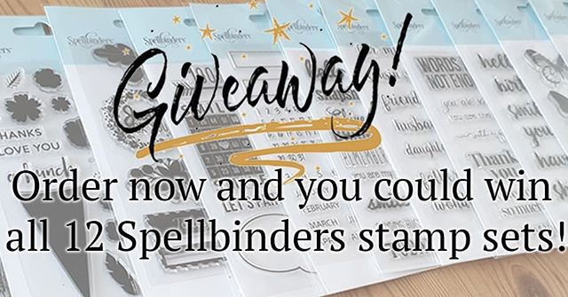 Its here!! Our sparkly new website! Be sure to take a look and if you order before 25 March you could win all 12 Spellbinders stamp sets! Link via linktr.ee #hopeandchances  #homeallthingsspellbinders #scrapbookadhesiveby3l  #diecutting #hopeandcharming