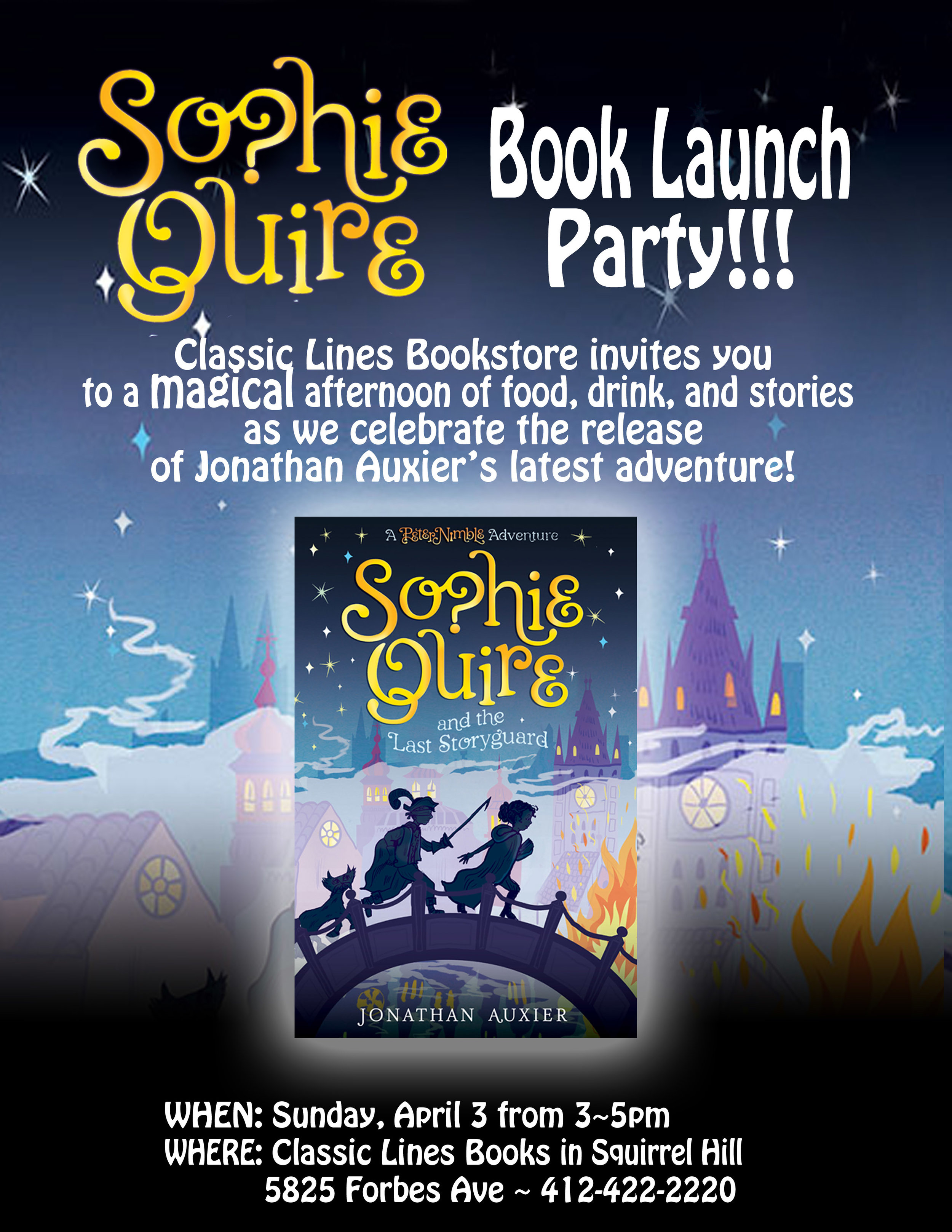 Sophie Quire Launch Invite