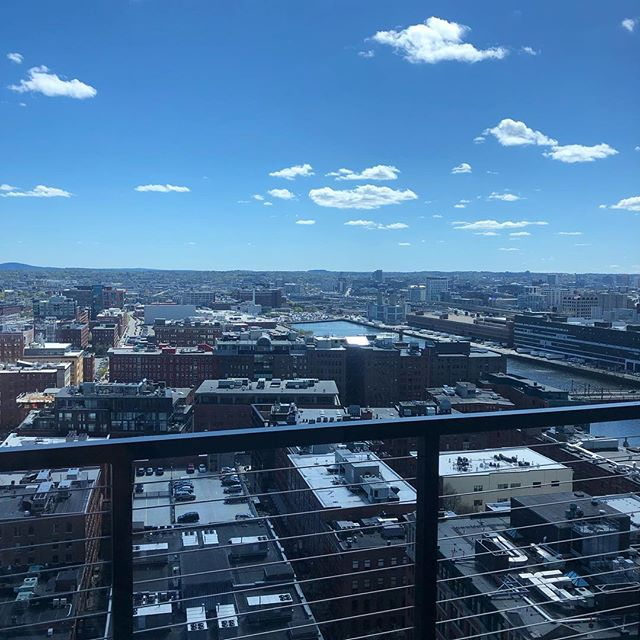 Imagine a studio with this view and a Multiwall! You can have both in unit 2011 at the @viaseaportresidences leasing now!!