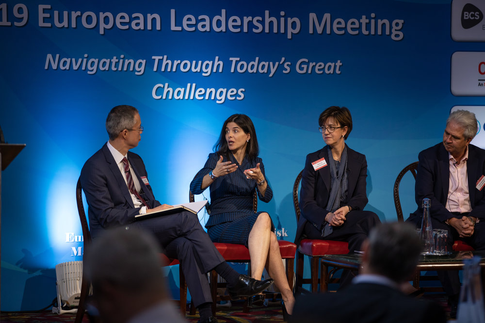Terri Duhon European Leadership Meeting.