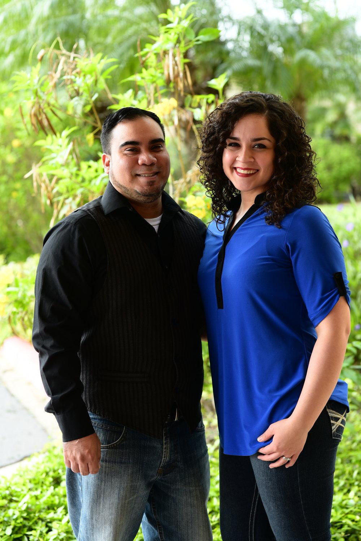Pastors Joey & Deserae Garza