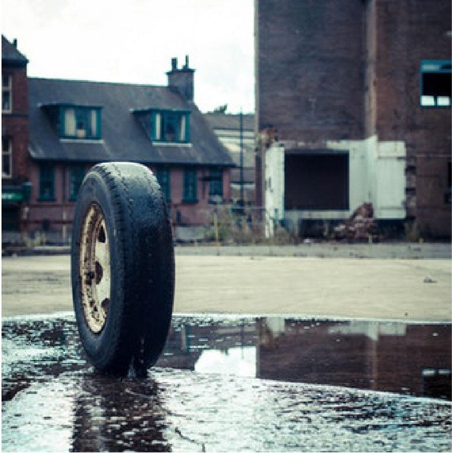 Lose a tire... -