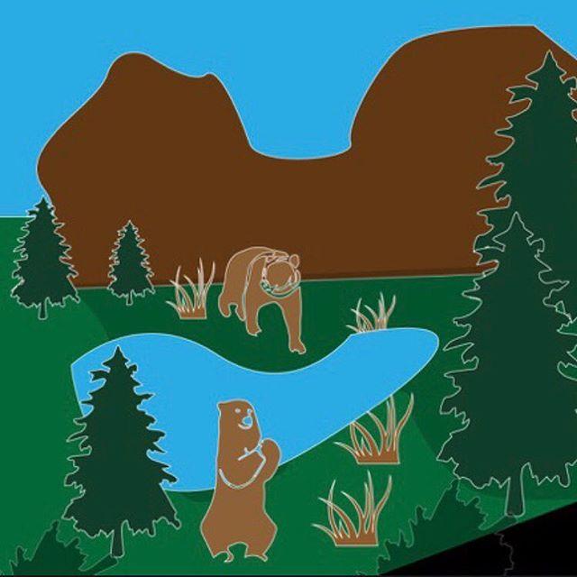#Yosemite vanlife illustration. Image 3 of 3 . . . #rvlife #vanlife #vanlifer #vanlifers #vanlifecamper #projectvanlife #vanlifedistrict #thisisvanlifeing #illustrator #art #rvs #tabletopgames #boardgames #vanlifetheboardgame