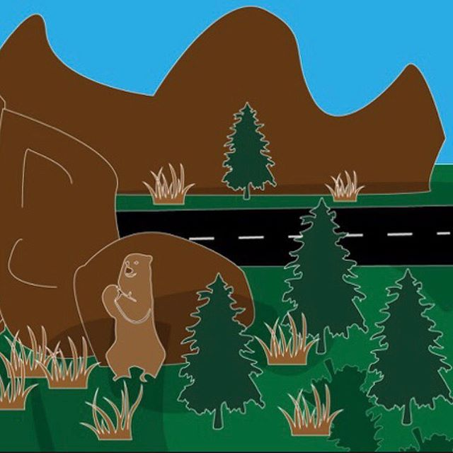 Vanlife Yosemite illustration. Image 1 of 3 . . . #rvlife #vanlife #vanlifer #vanlifers #vanlifecamper #projectvanlife #vanlifedistrict #thisisvanlifeing #illustrator #art #rvs #tabletopgames #boardgames #vanlifetheboardgame