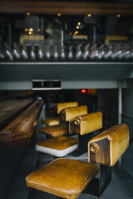 Pullman, wine bar Montreal, bar stool