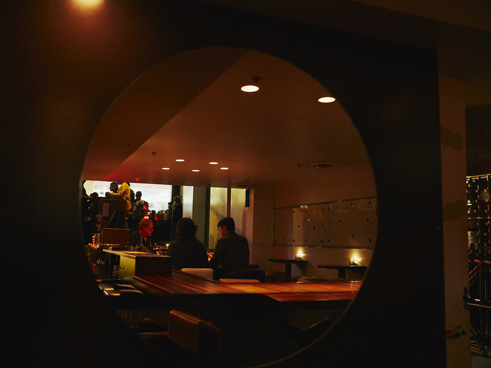 Pullman, bar à vin Montréal, salle
