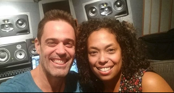 Roman Rojas and Grammy Award Winner Mireya Ramos.