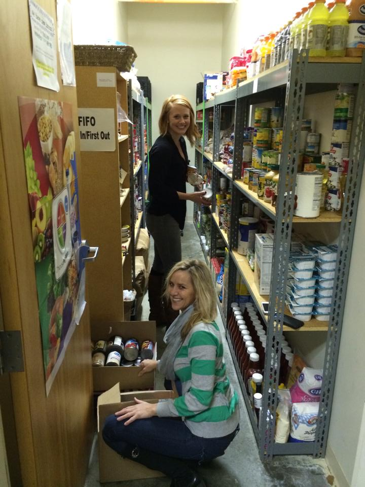 Spokane giving back at St. Margarets pantry.jpg