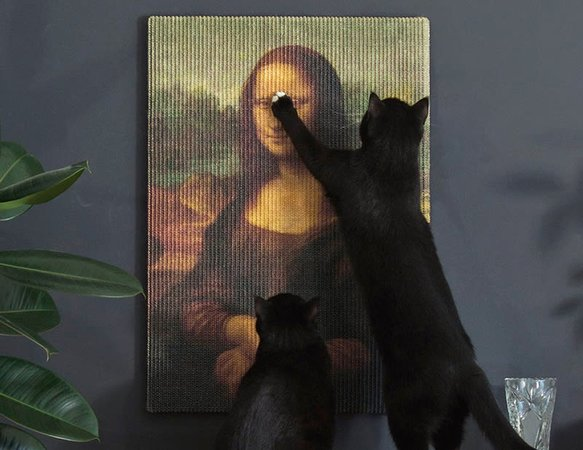 Copycat Art Scratcher, Image courtesy of Studio Erik Stehmann