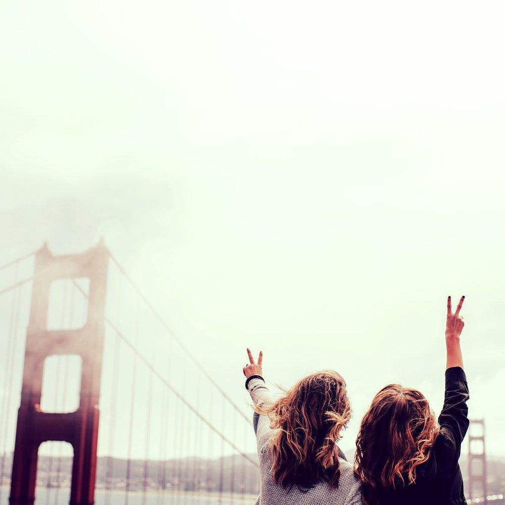 Women Thriving at Golden Gate Bridge | Total Thrive
