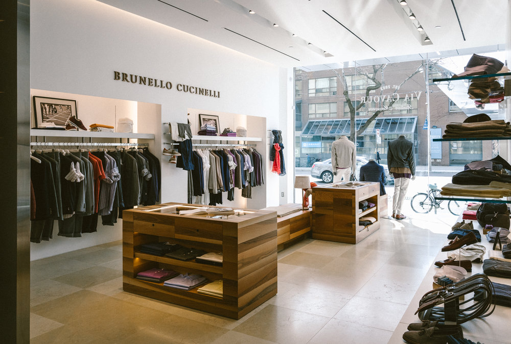 Brunello Cucinelli - Sportswear and tailoring crafted in thehillsides of Italy's Umbria region.
