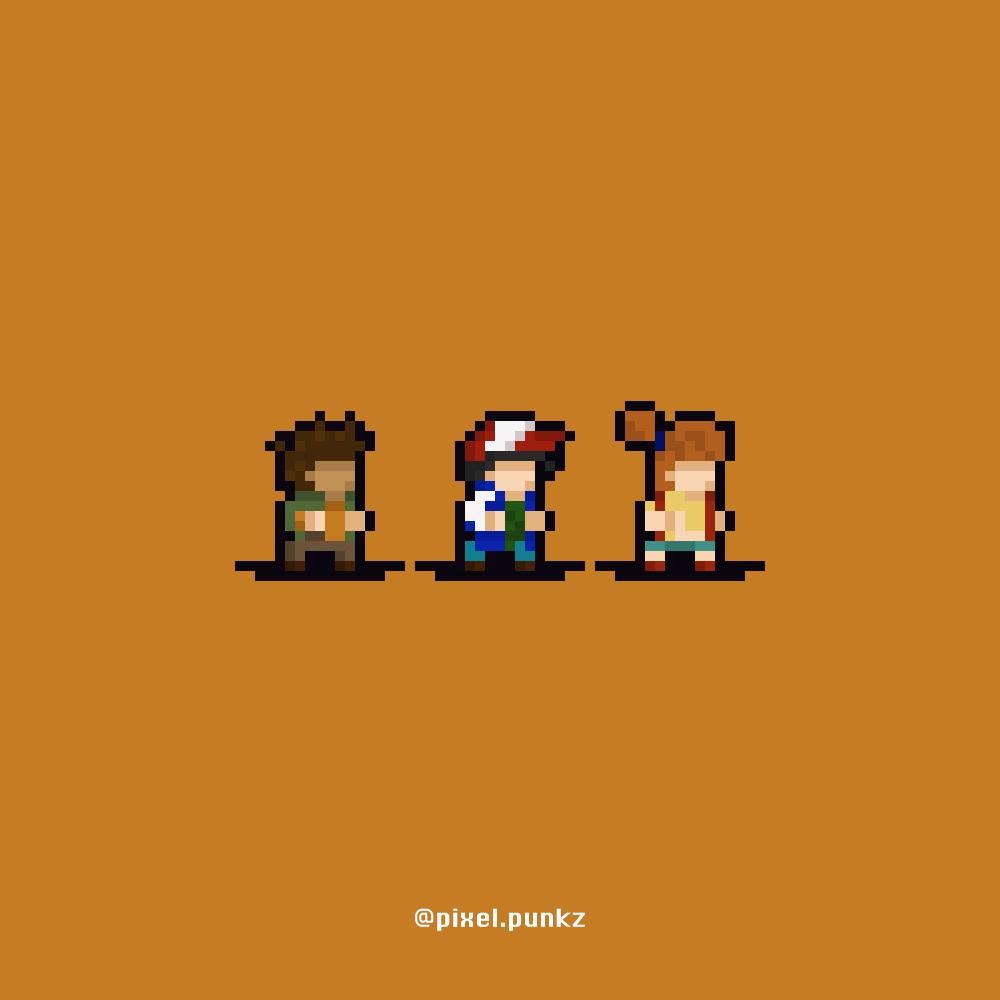 Ash, Brock and Misty