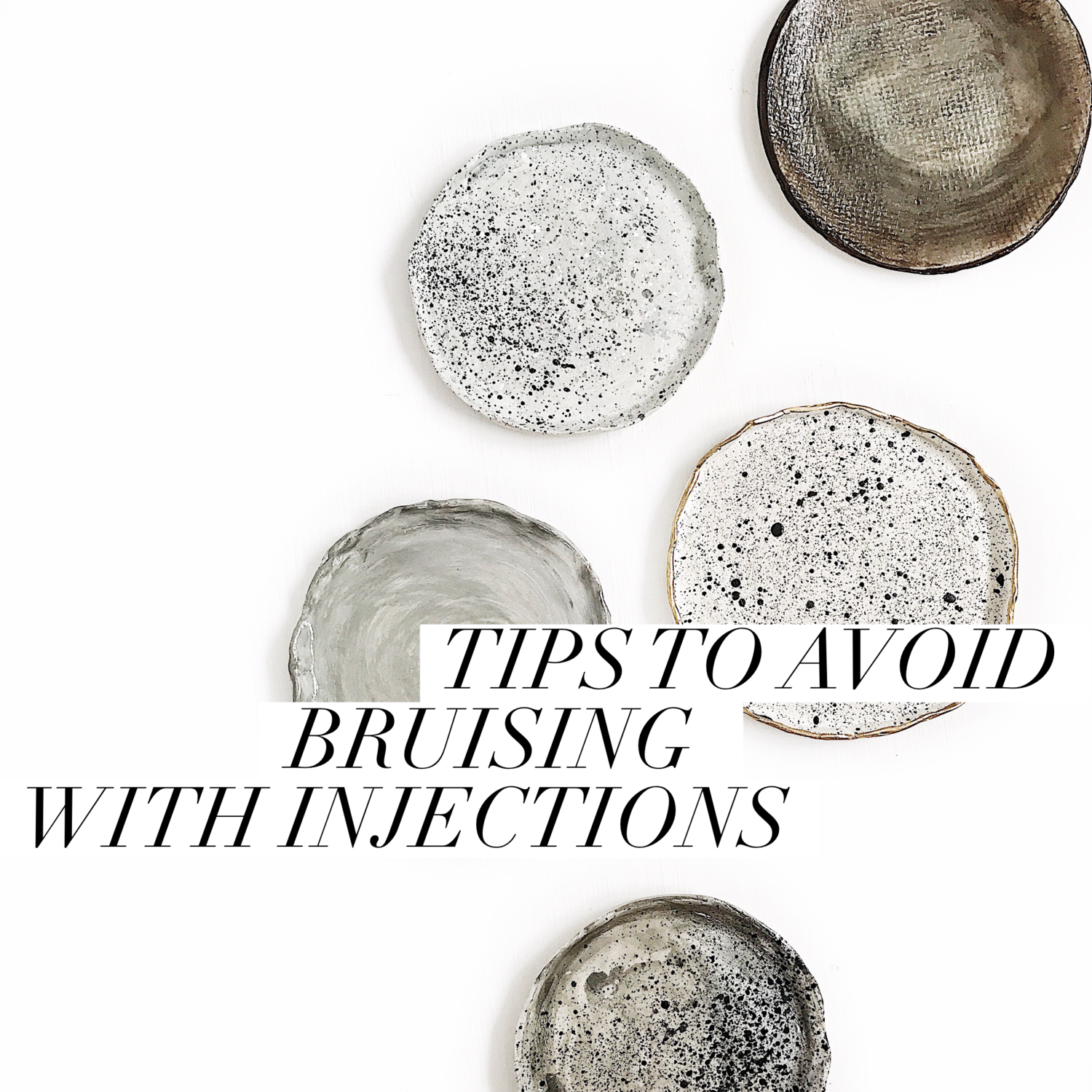 TIPS TO AVOID BRUISING WITH INJECTIONS — The Beauty Nurse