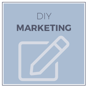 DIY Marketing - Check out my shop for DIY branding and marketing resources. I'm building up a collection of tools, resources and guides to help business owners that are just starting out and don't have the budget they need for a complete brand or website project.