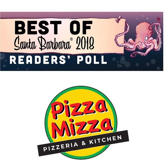 """Guys!! We are nominated in the """"Best Pizza"""" category!! A vote for us is a vote for great pizza 🍕🍕🍕 link is in our bio!  #pizzamizza #pizza #bestpizza #santabarbara"""