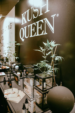 LA BeautyCon 2019 Kush Queen Booth