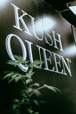 Kush Queen CBD Booth at LA BeautyCon 2019