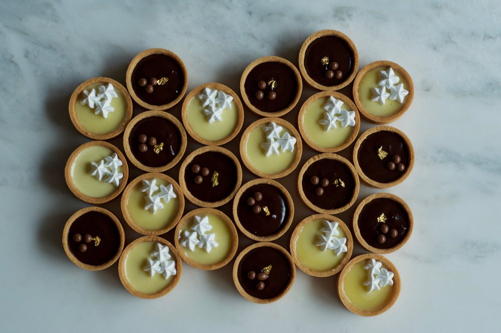 Salted Caramel Dark Chocolate and Lemon Tarts.jpg