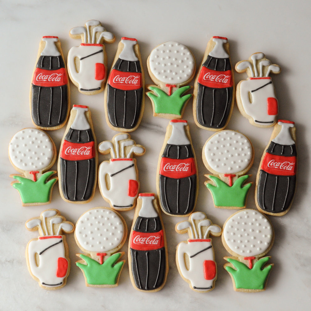 Coca-Cola Golf Cookies.jpg