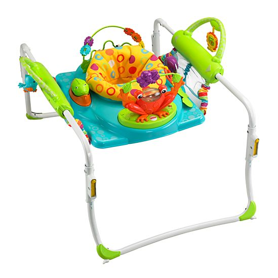 This particular jumperoo is now unavailable at Toys R Us; click the picture for a link to another great option from Fisher Price!