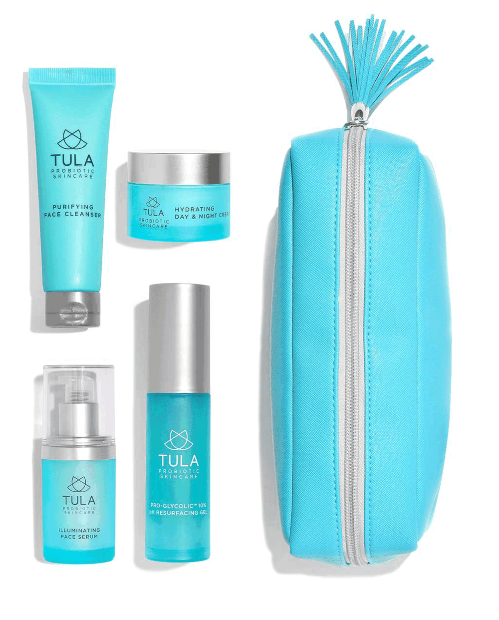 Probiotic 4 PIece Deluxe Discovery Kit, www.tula.com