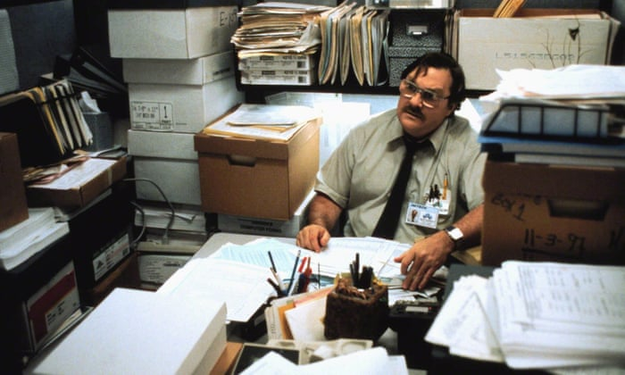 Office Space - cubicle life