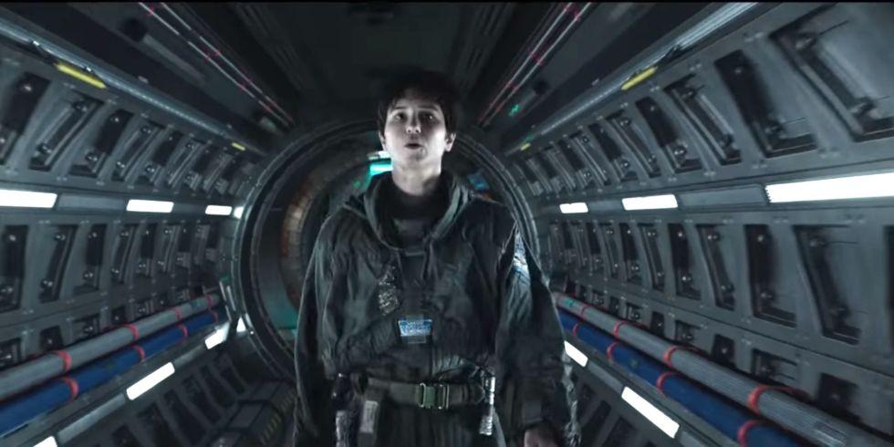 Katherine Waterston in  Alien: Covenant