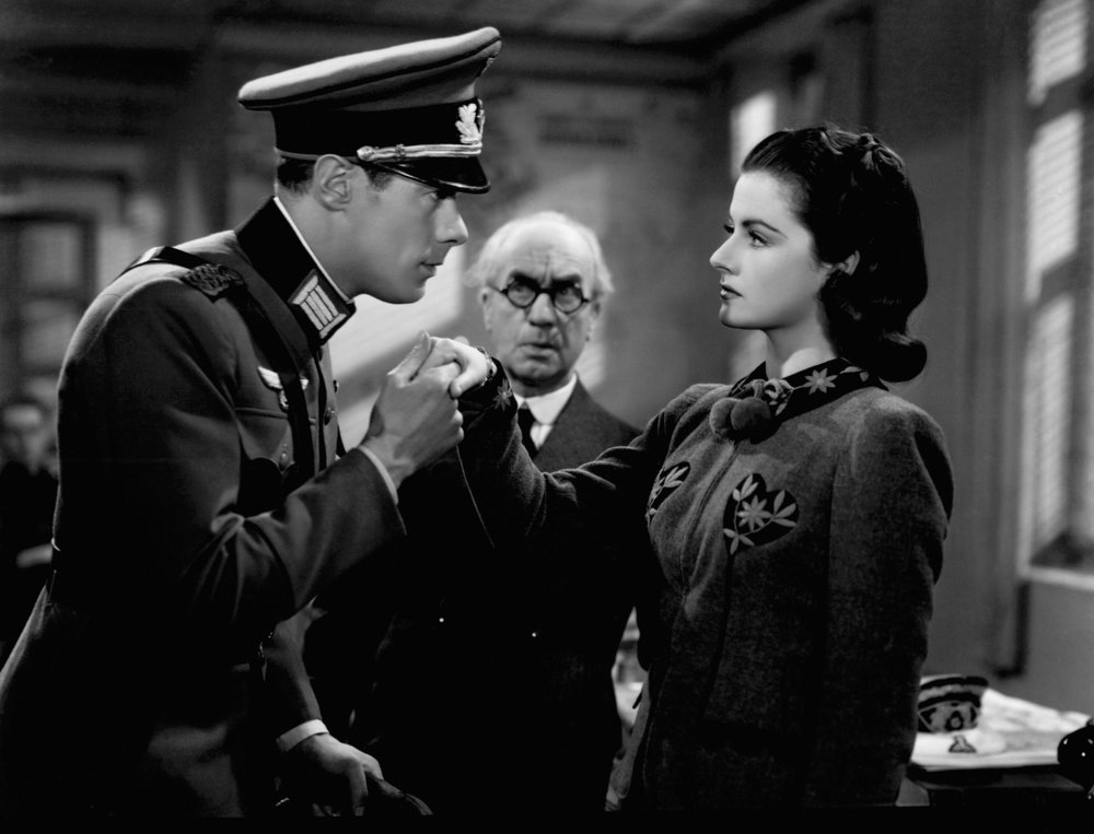 Rex Harrison, James Harcourt, and Margaret Lockwood in  Night Train to Munich