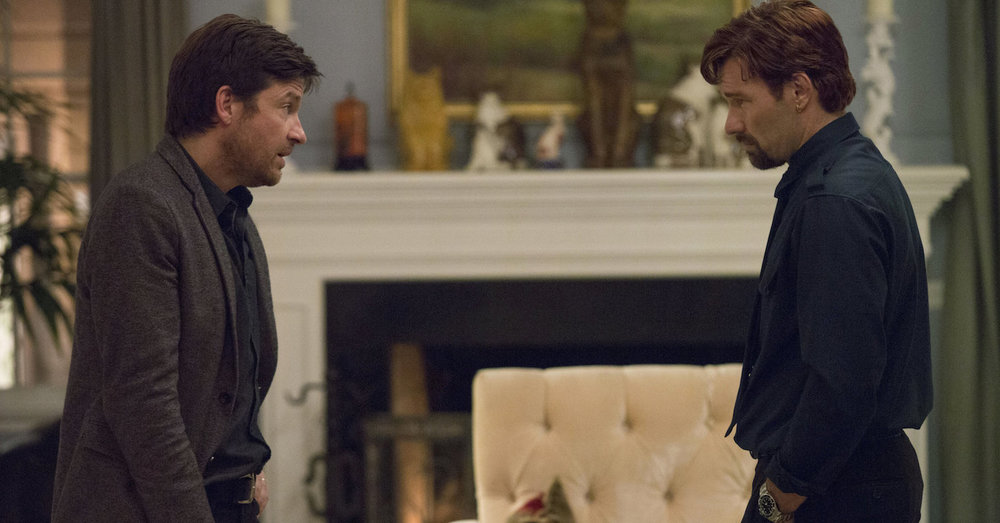 Jason Bateman and Joel Edgerton face off in  The Gift