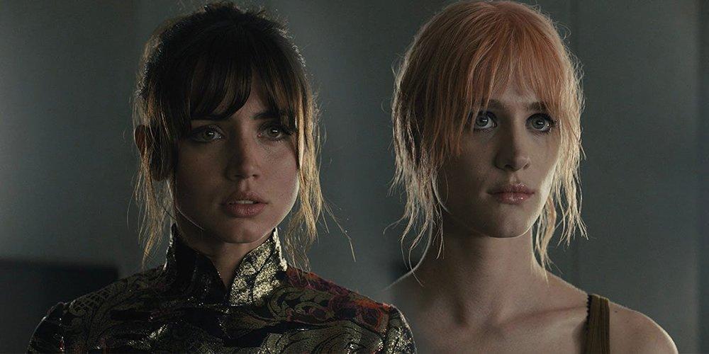 Ana de Armas and Mackenzie Davis in  Blade Runner 2049