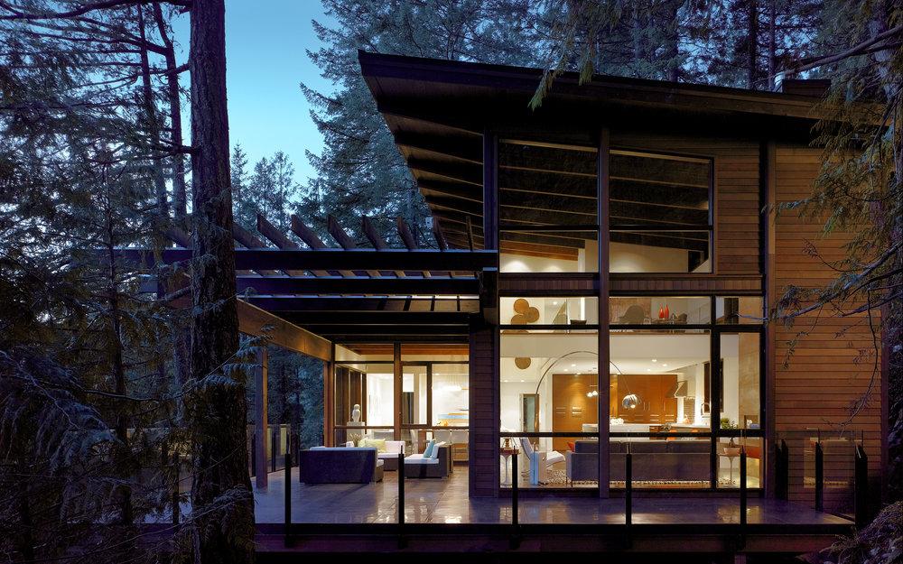 Gambier Island, British Columbia - Gambier Island House