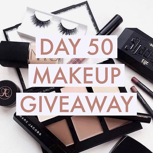 HAPPY #100DAYSOFMAKEUP DAY 50 GIVEAWAY! We have made it to the HALFWAY point of this challenge, and I have put together another huuuuge beauty giveaway with some of my favorite beauty bloggers to celebrate!!! 🙌🏻🙌🏻 *SWIPE PICTURE TO SEE FULL PRIZE LIST!* . . To enter to win: 1️⃣ FOLLOW @blondeandambitiousblog, @mego, @gettingfitfab, @heytherechelsie, @chelseaoliviaxo, @kbaebae13, @beautywithlily, @xoalexisblog & @laceandsparkls 2️⃣ LIKE this picture 3️⃣ TAG a makeup-loving BFF below who would also love this amazing beauty haul! 4️⃣ BONUS ENTRY: Like my last 5 pics for 5 additional entries! . . Extra entries earned for tagging extra besties in the comments below - tagging fake, spam, or celebrity accounts automatically disqualifies you. Unfollowers will be automatically disqualified from all future contests. Contest not associated at all and/or sponsored by Instagram. Ends 9/15 at midnight EST. Winner announced 9/16! 🙌🏻