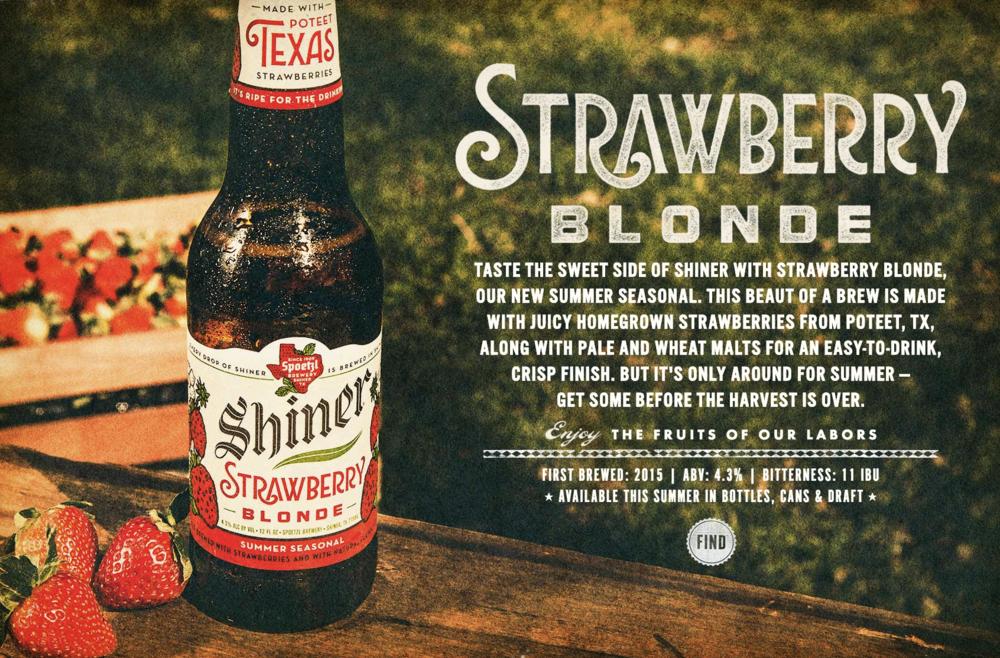 Source: Spoetzl Brewery   Shiner