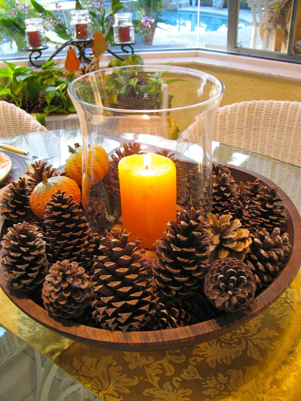Charming Pine Cone Decoration Ideas Of 14 Diy For Candle Holder 13 Fall