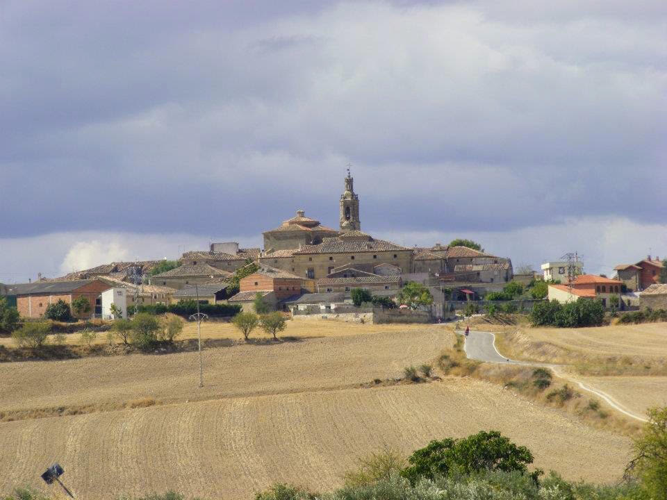 Stunning view of a small town along the Camino