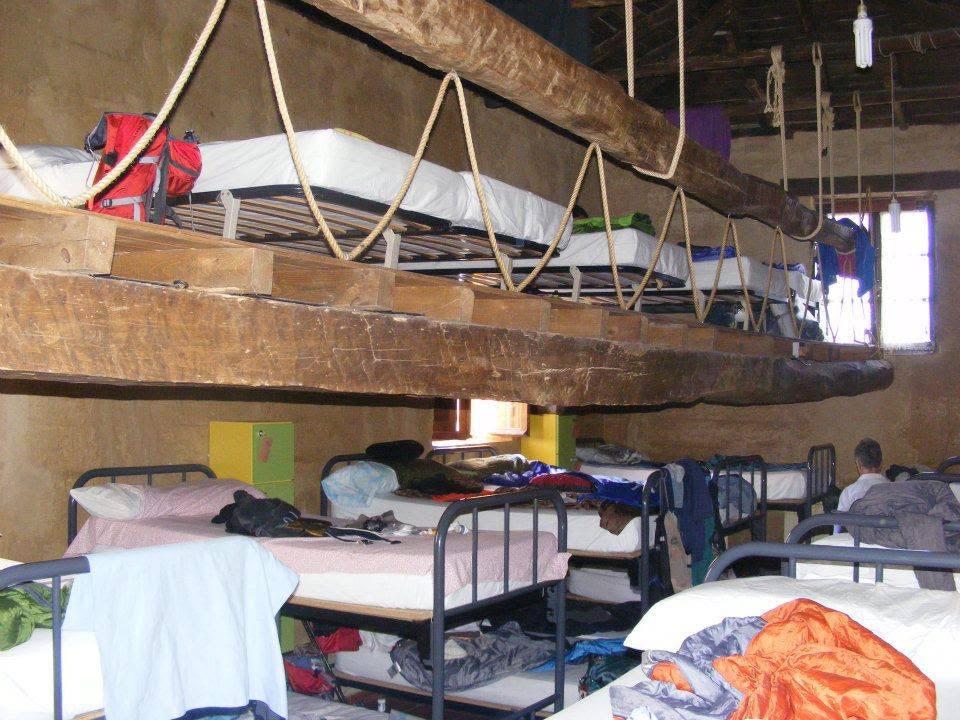 A dormitory along the Camino