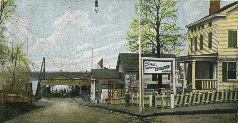 12468-Bentley_Street_at_Ferry,_Tottenville,_Staten_Island_(view_of_ferry_gate_to_N.J._and_restaurant_on_street_corner)_(NYPL_b15279351-105073).jpg