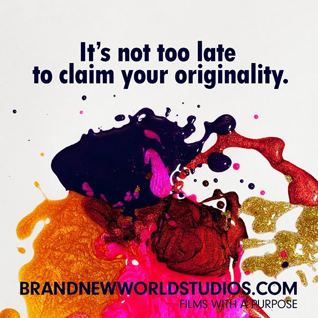 "A borrowed life is one created by someone who wants the best for us, but doesn't know the ""best within us."" If you are true to yourself, you will become the author and authority of the life you own, not the one you borrowed. #ownit #beoriginal #beyou #yourstory #purpose #brandnewworldstudios"